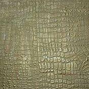 Дизайн и реклама handmade. Livemaster - original item The decoration of the wall plaster in the form of crocodile skin green. Handmade.