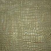 Decor handmade. Livemaster - original item The decoration of the wall plaster in the form of crocodile skin green. Handmade.
