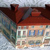 Для дома и интерьера ручной работы. Ярмарка Мастеров - ручная работа набор для кухни ,,Париж,,. Handmade.