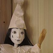 Куклы и игрушки ручной работы. Ярмарка Мастеров - ручная работа Кукла Пьеро .. Handmade.