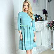 Одежда handmade. Livemaster - original item A dress for every day dress in viscose Lady. Handmade.