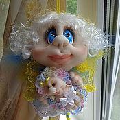 Куклы и игрушки ручной работы. Ярмарка Мастеров - ручная работа Феечка Крестная, кукла ручной работы. Handmade.