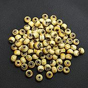 Материалы для творчества handmade. Livemaster - original item Beads Deer Horn Rondel 10h8mm. Handmade.