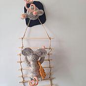 handmade. Livemaster - original item Souvenir fridge Mouse-thief. Handmade.