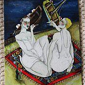 Картины и панно ручной работы. Ярмарка Мастеров - ручная работа Turkish Sailing. Handmade.