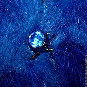 """Одежда ручной работы. Ярмарка Мастеров - ручная работа Безрукавка """"Синий кролик"""". Handmade."""