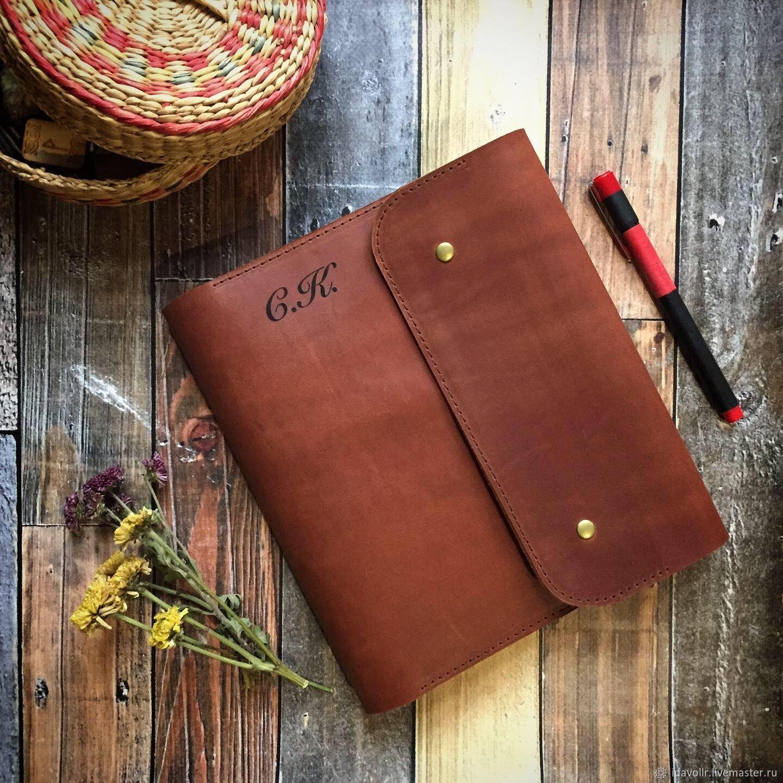 Кожаный блокнот с персональной гравировкой – купить на Ярмарке Мастеров – LWPPSRU | Блокноты, Краснодар