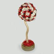 handmade. Livemaster - original item Topiary tree from hematite