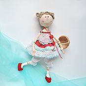 Куклы и игрушки ручной работы. Ярмарка Мастеров - ручная работа Кукла текстильная интерьерная.. Handmade.