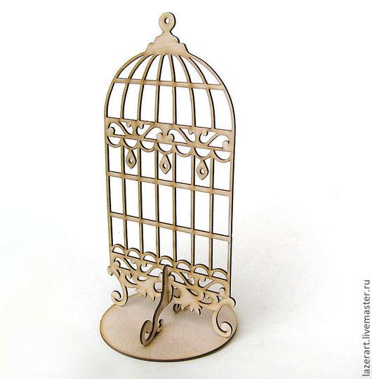 """Статуэтки ручной работы. Ярмарка Мастеров - ручная работа. Купить Подставка для бижутерии """"Клетка"""". Handmade. Бежевый, для бижутерии, клетка для птиц"""