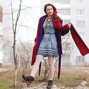 """Одежда ручной работы. Ярмарка Мастеров - ручная работа Платье """"Серая яркость"""". Handmade."""