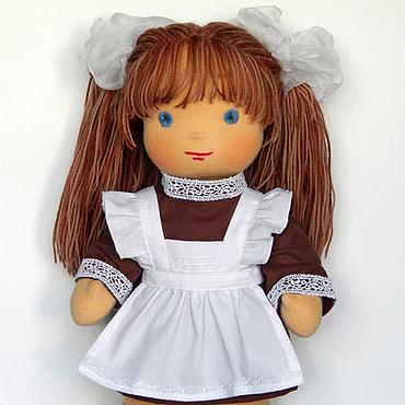 Куклы и игрушки ручной работы. Ярмарка Мастеров - ручная работа Вальдорфская кукла Майя 36 см. Handmade.