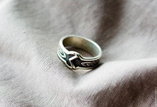 """Кольца ручной работы. Ярмарка Мастеров - ручная работа. Купить кольцо """"Руна Кано"""". Handmade. Руна, руна из серебра"""