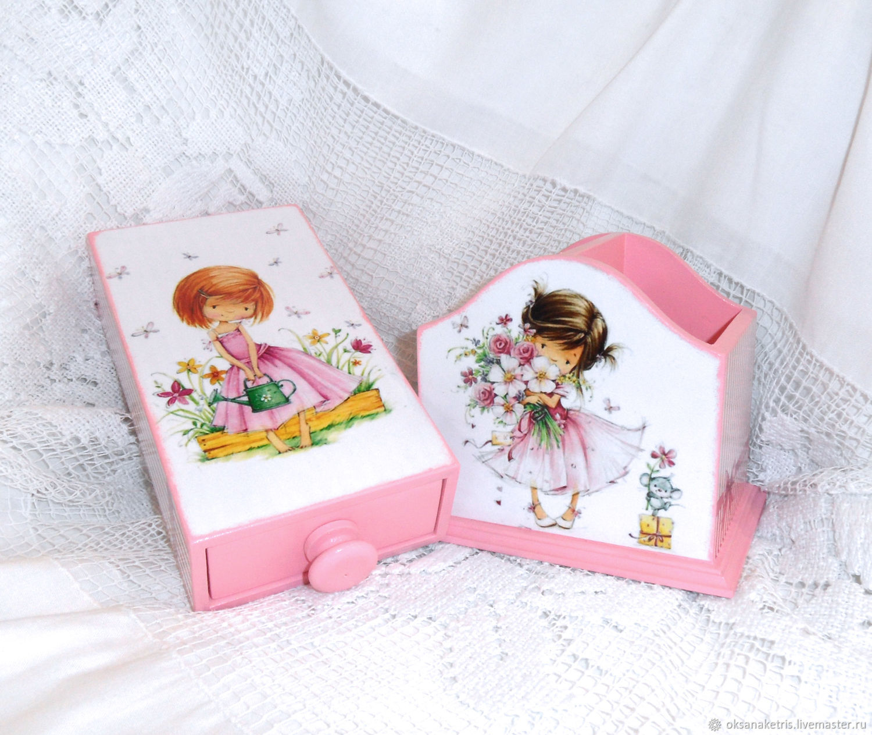 Set Pencil holder and pencil box my Daughter, Pencil holders, Novosibirsk,  Фото №1