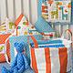 Детская ручной работы. Ярмарка Мастеров - ручная работа. Купить Яркие бортики-домики в детскую кроватку с жирафиками. Handmade. Домик