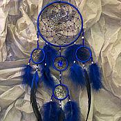 Для дома и интерьера handmade. Livemaster - original item Dreamсatcher - Hildein Blue (80cm). Handmade.