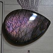 Материалы для творчества handmade. Livemaster - original item Labradorite. Cabochon 56x41x6. Handmade.