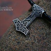 Украшения handmade. Livemaster - original item Mjollnir (Thor`s hammer). Handmade.