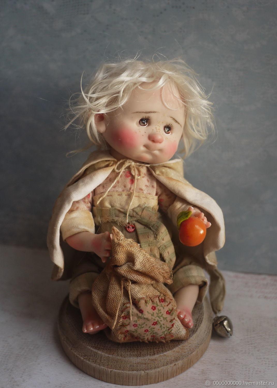 Авторская кукла  Стёпка, Куклы и пупсы, Санкт-Петербург,  Фото №1