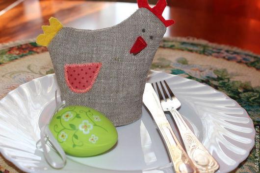Подарки на Пасху ручной работы. Ярмарка Мастеров - ручная работа. Купить Пасхальная курочка на тарелочку. Handmade. Бежевый, пасхальные яйца
