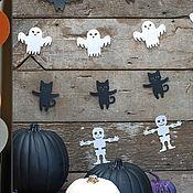 Подарки к праздникам ручной работы. Ярмарка Мастеров - ручная работа Набор Хэллоуин. Handmade.