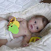 Куклы и игрушки ручной работы. Ярмарка Мастеров - ручная работа Кукла реборн силиконовая Ирма. Handmade.