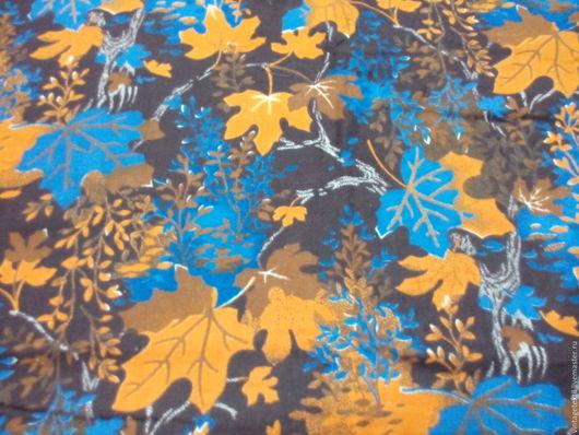 Одежда. Ярмарка Мастеров - ручная работа. Купить Фланель винтажная для пижамки или для халатика. 4,4 м. Handmade. Комбинированный