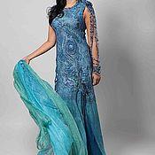 """Одежда ручной работы. Ярмарка Мастеров - ручная работа платье образ """"Вода"""". Handmade."""
