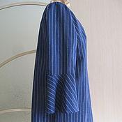 Одежда ручной работы. Ярмарка Мастеров - ручная работа Платье с игривыми воланами. Handmade.