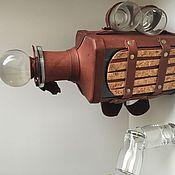 Посуда ручной работы. Ярмарка Мастеров - ручная работа Графин стеклянный в кржаном переплете. Handmade.