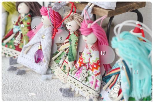 Человечки ручной работы. Ярмарка Мастеров - ручная работа. Купить Новогодние феи  - куколка / украшение / талисман. Handmade.