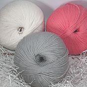 Материалы для творчества handmade. Livemaster - original item Yarn for knitting doll/children`s clothing. Handmade.
