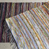 Для дома и интерьера ручной работы. Ярмарка Мастеров - ручная работа Половик ручного ткачества (№ 128). Handmade.