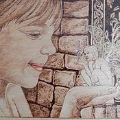 """Картины и панно ручной работы. Ярмарка Мастеров - ручная работа Картина """"Секрет феи"""". Handmade."""