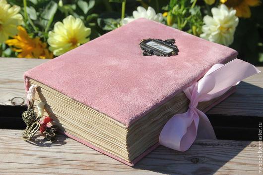 """Ежедневники ручной работы. Ярмарка Мастеров - ручная работа. Купить Книга для записей """"Дневник принцессы"""". Handmade. Розовый, синтепон"""