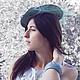 """Шляпы ручной работы. Заказать Шляпка"""" Иоанна"""". Марина Духан. Ярмарка Мастеров. Шляпка с цветами, свадьба, цветы искусственные"""