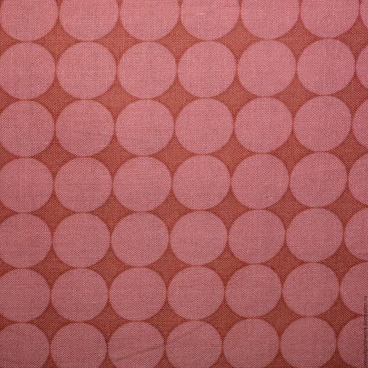 """Шитье ручной работы. Ярмарка Мастеров - ручная работа. Купить Хлопок ткань для пэчворка """"Горох"""". Корея. Handmade. Кремовый"""