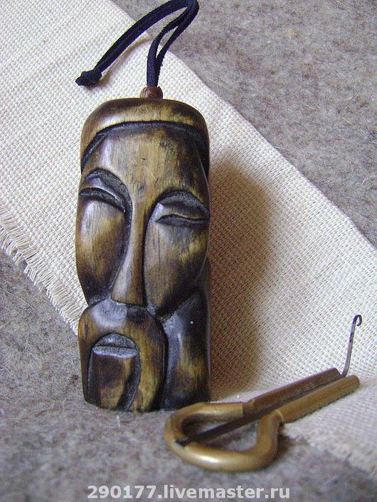 Чехлы для инструментов ручной работы. Ярмарка Мастеров - ручная работа. Купить футляр для ВАРГАНА (3). Handmade. Варган, дерево
