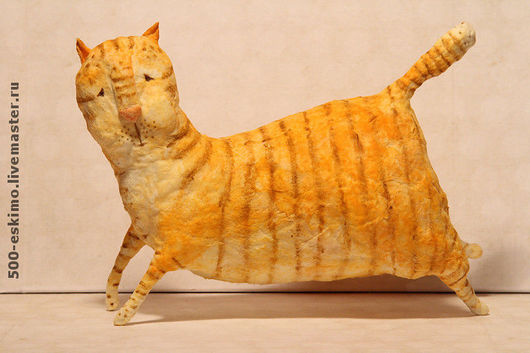 Игрушки животные, ручной работы. Ярмарка Мастеров - ручная работа. Купить Мартовский кот. Handmade. Подарок к 8 марта
