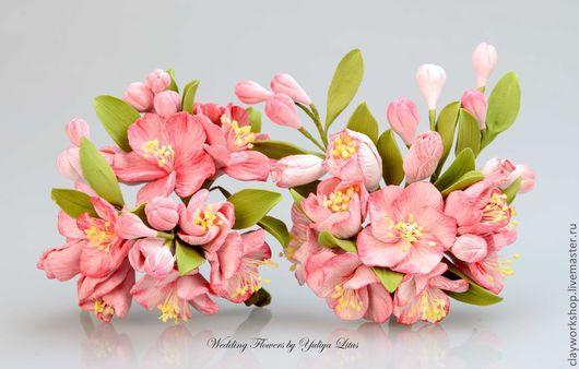 Цветы из полимерной глины - 1900 р.