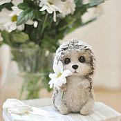 Куклы и игрушки handmade. Livemaster - original item hedgehog felted toy. Handmade.