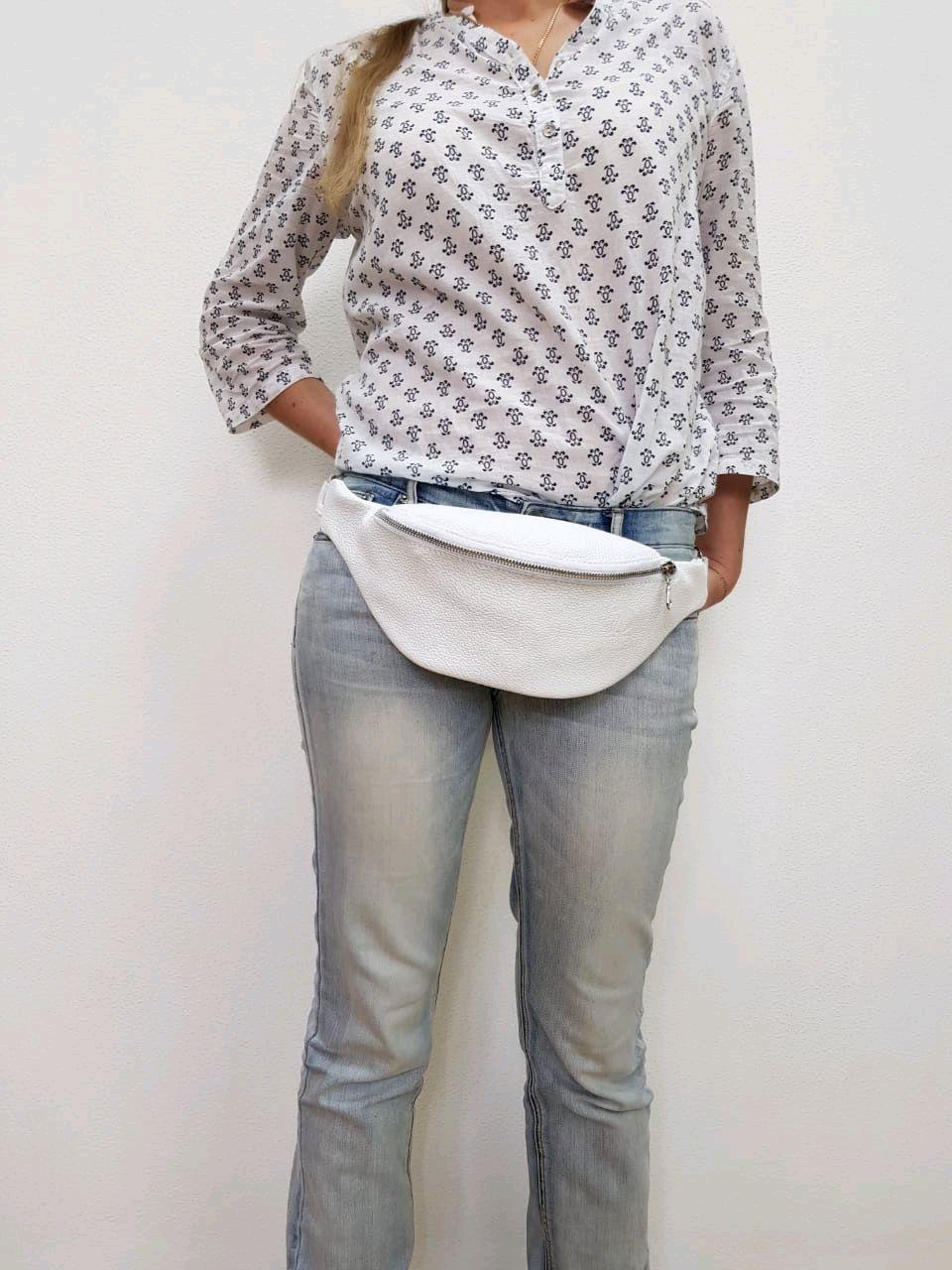 Женская Сумка на пояс из натуральной кожи, Поясная сумка, Санкт-Петербург,  Фото №1