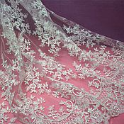 Материалы для творчества handmade. Livemaster - original item Exquisite Bridal Chantilly lace 2. Handmade.