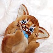 Куклы и игрушки ручной работы. Ярмарка Мастеров - ручная работа Аби котенок Diego. Абиссинские кошки. Коллекционная игрушка. Handmade.