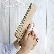 Подарки к праздникам handmade. Livemaster - original item Gun rezinostrela. Handmade.