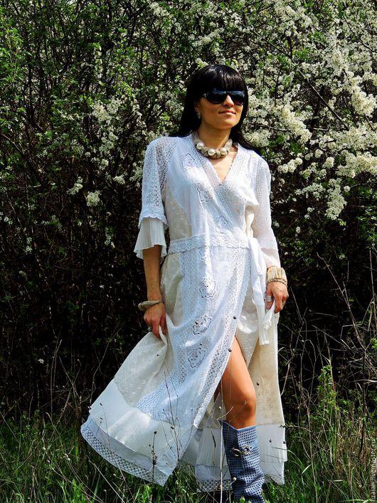 платье макси, платье бохо, бохо платье, стиль бохо, платье с кружевом, платье с вышивкой, платье из хлопка, платье из батиста