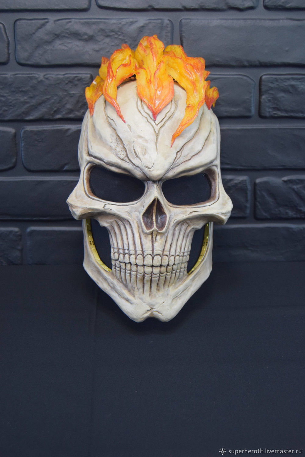 Mask Of Ghost Rider From The Tv Series Agents Of Shield