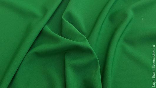 Шитье ручной работы. Ярмарка Мастеров - ручная работа. Купить Габардин зеленый Корея. Handmade. Габардин, ткань для творчества
