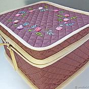 Сумки и аксессуары handmade. Livemaster - original item Road case for cosmetics. Handmade.