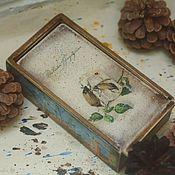 Для дома и интерьера handmade. Livemaster - original item Maybug time - 2, wooden box. Handmade.